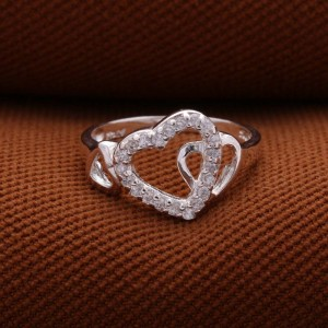 Karylle 3-Tangled Hearts 925 Silver Ring (Clearance Sale SRP 550)
