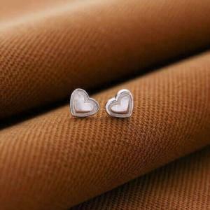 Kathryn Simple Heart Earrings