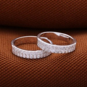 Magical Love Couple Ring with Stones