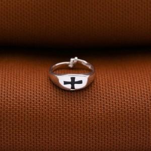 Matthew Black Cross Ring