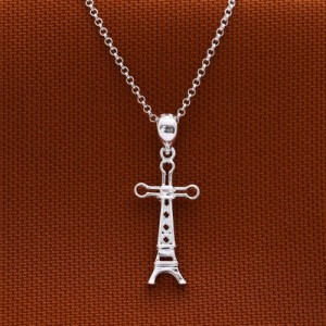 Paris 925 Sterling Silver Necklace by Argento