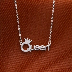 Piah Queen Silver Necklace
