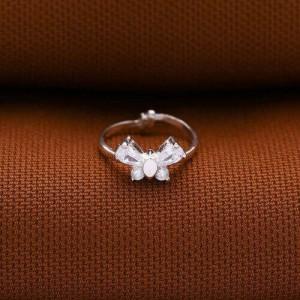 Snow White Ribbon Ring
