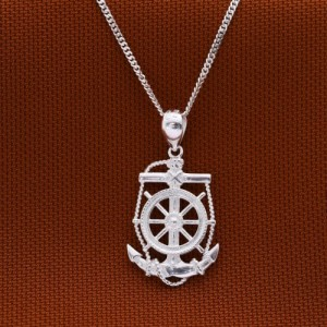 Sunny Go Anchor Necklace