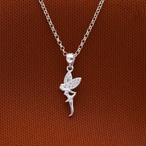 Tinkerbell 925 Silver Necklace