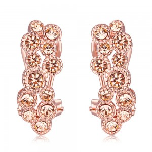 Abigail Rose Gold Plated Earrings
