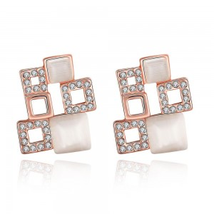 Adriana Rose Gold Plated Earrings