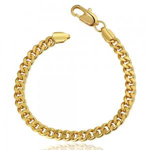 Alex 18K Gold Plated Chain Bracelet