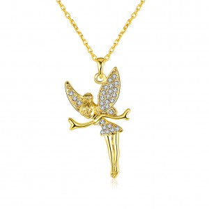 Aliyah Angel Necklace