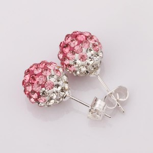 Shamballa Anastasia Round Shamballa Earrings