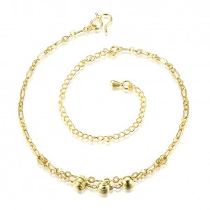 Andrea 18k Gold Plated Anklet