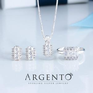 Antonina Platinum Plated Ring