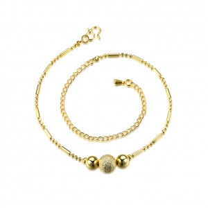 Arlyn 18k Gold Plated Anklet
