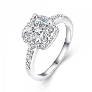Armenia Platinum Plated Ring