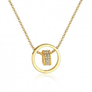 Arya 18K Gold Plated Necklace