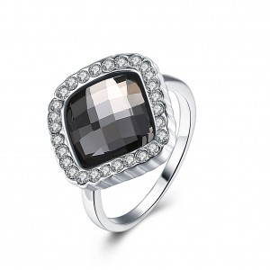 Astrid White Gold Plated Ring
