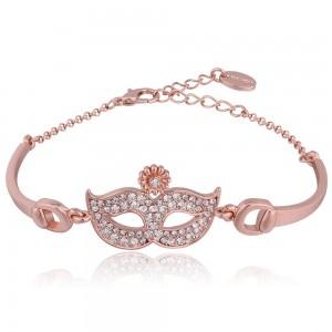 Bella Masquerade 18K Rose Gold Plated Bracelet