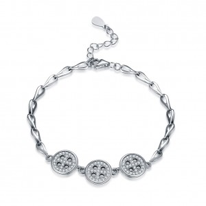 Betty Buttons  925 Sterling Silver  Bracelet