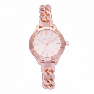 Cadence Rose Gold Carpe Diem Watch