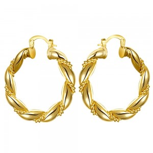 Cella 18K Gold Plated Earrings
