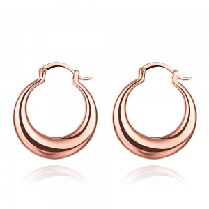 Clarissa Rose Gold Plated Earrings by Elite