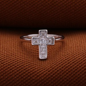 Cristina Cross 925 Silver Ring (Clearance Sale SRP 499)