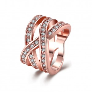 Danica Rose Gold Plated Ring