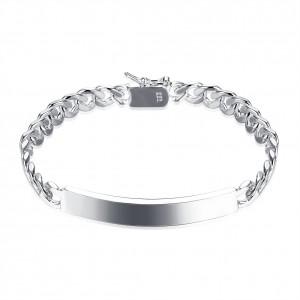 Delilah Silver Plated Bracelet