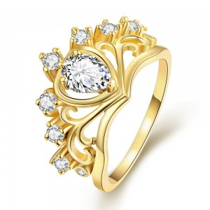 Dericka 18K Gold Plated Ring