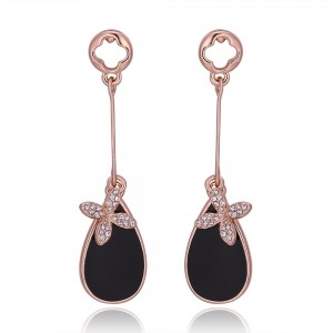 Dillian Rose Gold Plated Earrings