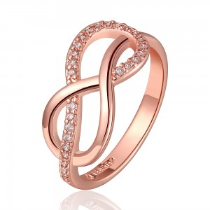 Dina 18k Rose Gold Plated Ring