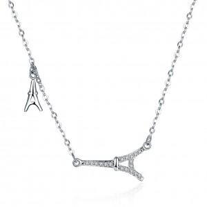 Marseille Eiffel Necklace