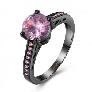 Elizabeth 18K Platinum Plated Ring