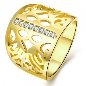 Emalee 18K Gold Plated Ring