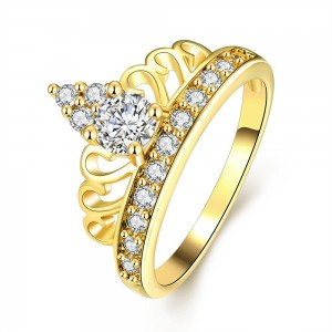 Fannie 18K Gold Plated Ring