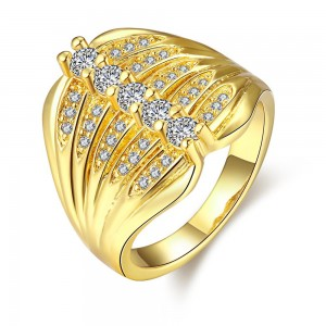 Gretchen 18K Gold Plated Ring
