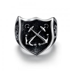 Harison 316L Stainless Steel Men's Ring