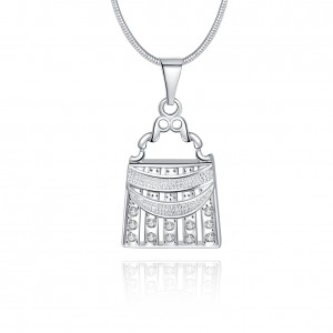 Hilton Bag Necklace