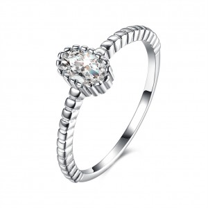 Isabelle 925 Argento Silver Ring Size 5