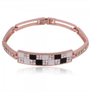 Jantrina 18k Rose Gold Plated Bracelet
