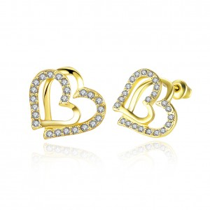 Jessica 18K Gold Plated Earrings