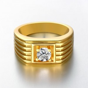 Joffrey 18K Gold Plated Ring for Men