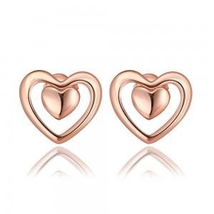 Kara 18K Rose Gold Plated Earrings