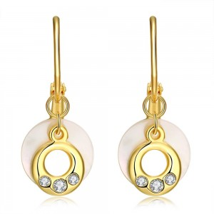 Lorilee 18K Gold Plated Earrings