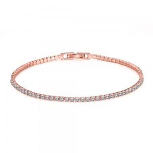Lucille 18k Rose Gold Bracelet