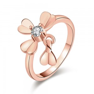 Martha Rose Gold Plated Ring