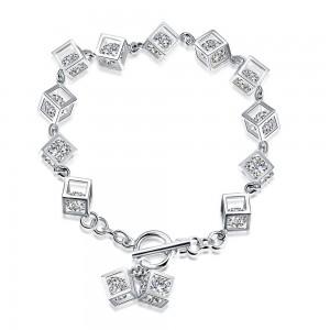 Mina Stone  925 Sterling Silver  Bracelet