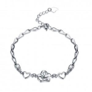 Mirabelle  925 Sterling Silver  Bracelet