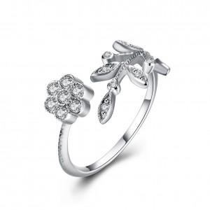 Misha 925 Argento Silver Adjustable Ring
