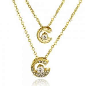 18k Gold Plated Moondance Necklace